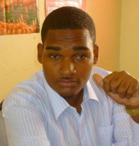 Saint Lucia's Youth Leader Tevin Shepherd.