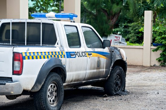 How did an arsonist set this police vehicle on fire unnoticed? Today, arson, who knows about tomorrow? Many believe lives of police officers have been impacted by Kenny Anthony's IMPACS report!