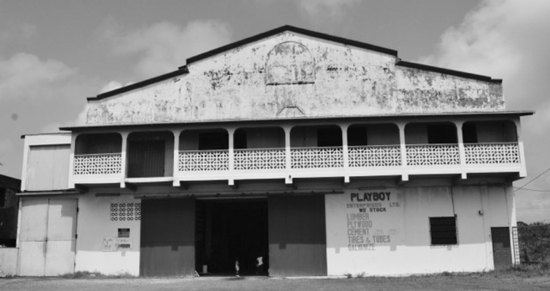 The owners of this business establishment in Vieux Fort had a hard time deciding who their friends were: the thieves who broke in and made away with their property or the tax-funded alleged protectors