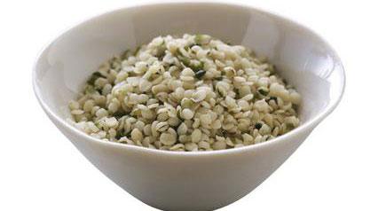 Hemp seeds, a terrific super food.