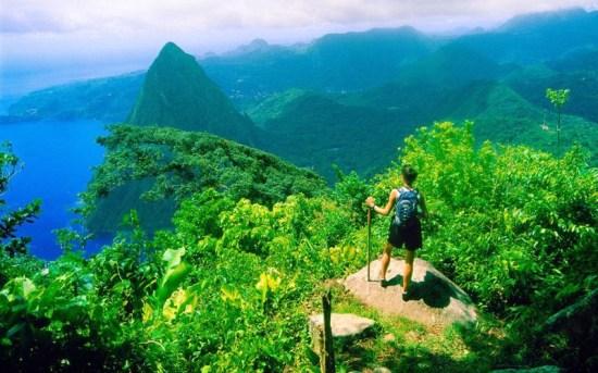 Gros Piton mountain; Soufriere, St. Lucia