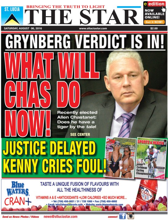 The STAR Newspaper for Saturday August 6th, 2016