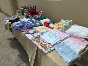 Some of the charity supplies donated by Simplyhelp Foundation