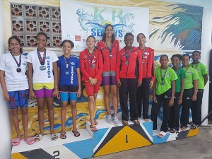 LA's Girls' Relay Team - 3rd Place