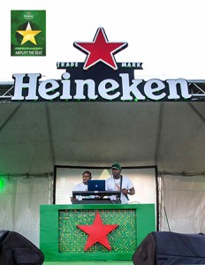 DJ T-Boog and MC Sly Eli on stage