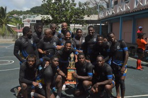 Rogues RFC taking home the 2017 Community 7s trophy