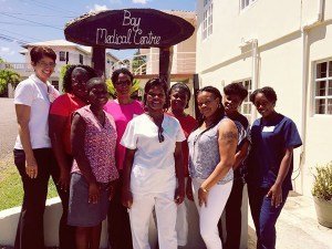 A workshops completed at the Bay Medical Centre, in Tapion
