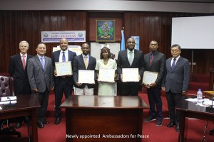 Newly Appointed Ambassadors for Peace
