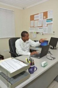 Sitting in the General Manager's Chair - Rickford Mann