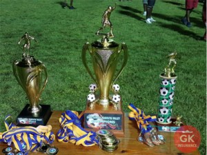 GK Mabouya Valley Football Finals - Trophies
