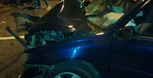 Driver Trapped In Car After Crash On Choc Highway