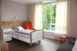 Zimmer im Hospiz