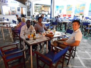 Dinner in Douala