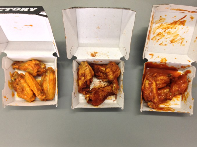 Buffalo Wild Wings: All Sauces and Seasonings, Reviewed