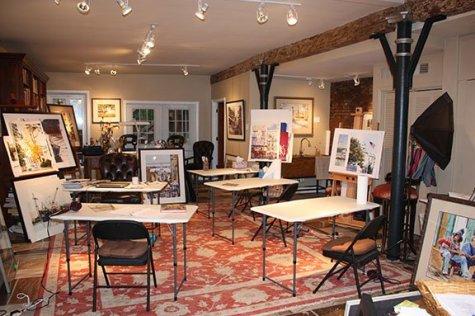 Daven Anderson Studio - Open Studio Tour 151003_Sm
