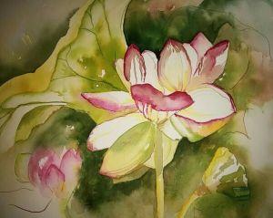Painting by Karen Papin