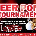 Beer Pong Tournament St Maarten Events