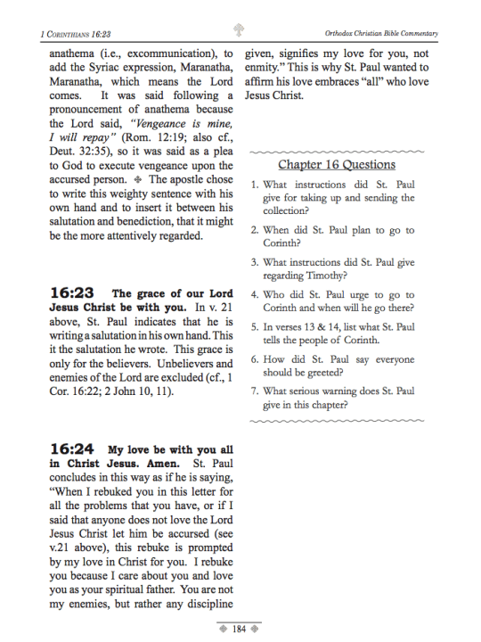 1 Corinthians Sample Page - 4
