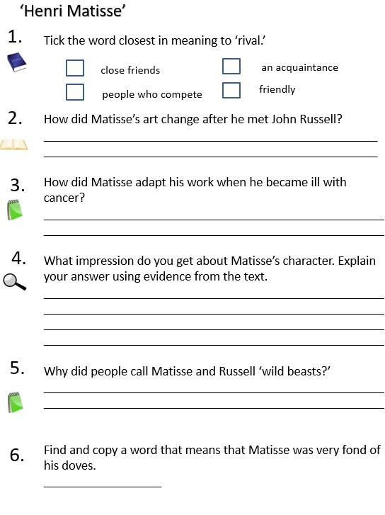henri mat questions