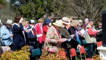 A joint Cosmos Sunday Service held by St Margarets Uniting Church and Holy Cross Anglican Church --- Hackett, Canberra, ACT
