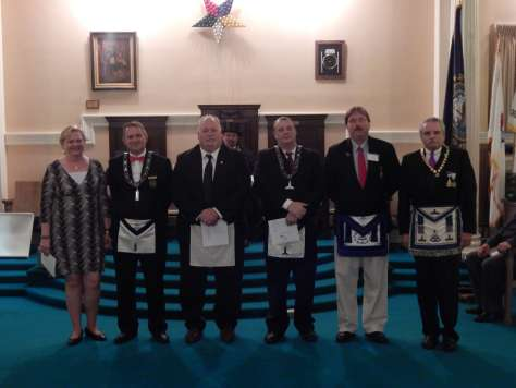 2015 Advisory Council for Derry Chapter DeMolay
