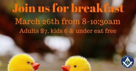 20160326 Easter Breakfast
