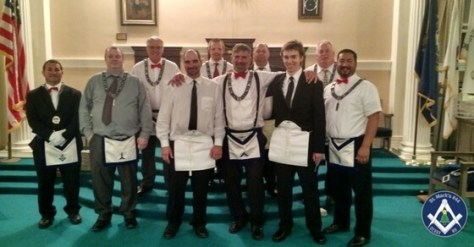 St. Mark's Lodge Entered Apprentice Degree