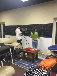 Re-painting the Basement!