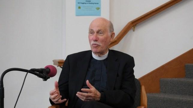 The Rev. Gordon Simmons. Photo by John Lasher