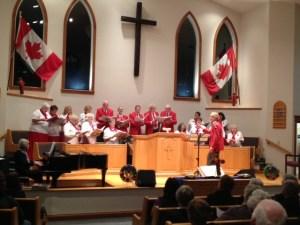 Canada Remembers Chorus 1