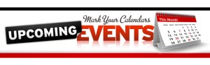 UpcomingEvents Mark Your Calendar