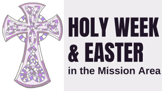 Holy Week and Easter in the Mission Area - image with celtic cross