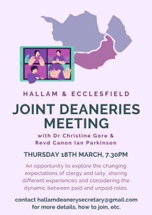 Notice to accompany Joint Deaneries Meeting - same text as notice