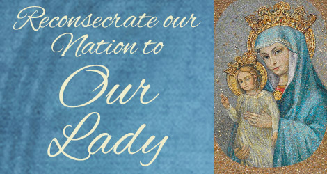 Consecration of the USA to Mary, Mother of the Church – Friday, 3 PM EST