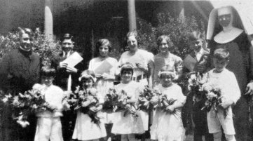 Father Neumann with the Class of 1931