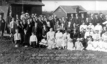 St. Mary 60th anniversary, Aug. 22, 1915