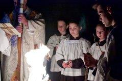 Novus Ordo Easter Vigil 2018 with Fr. Richard Heilman