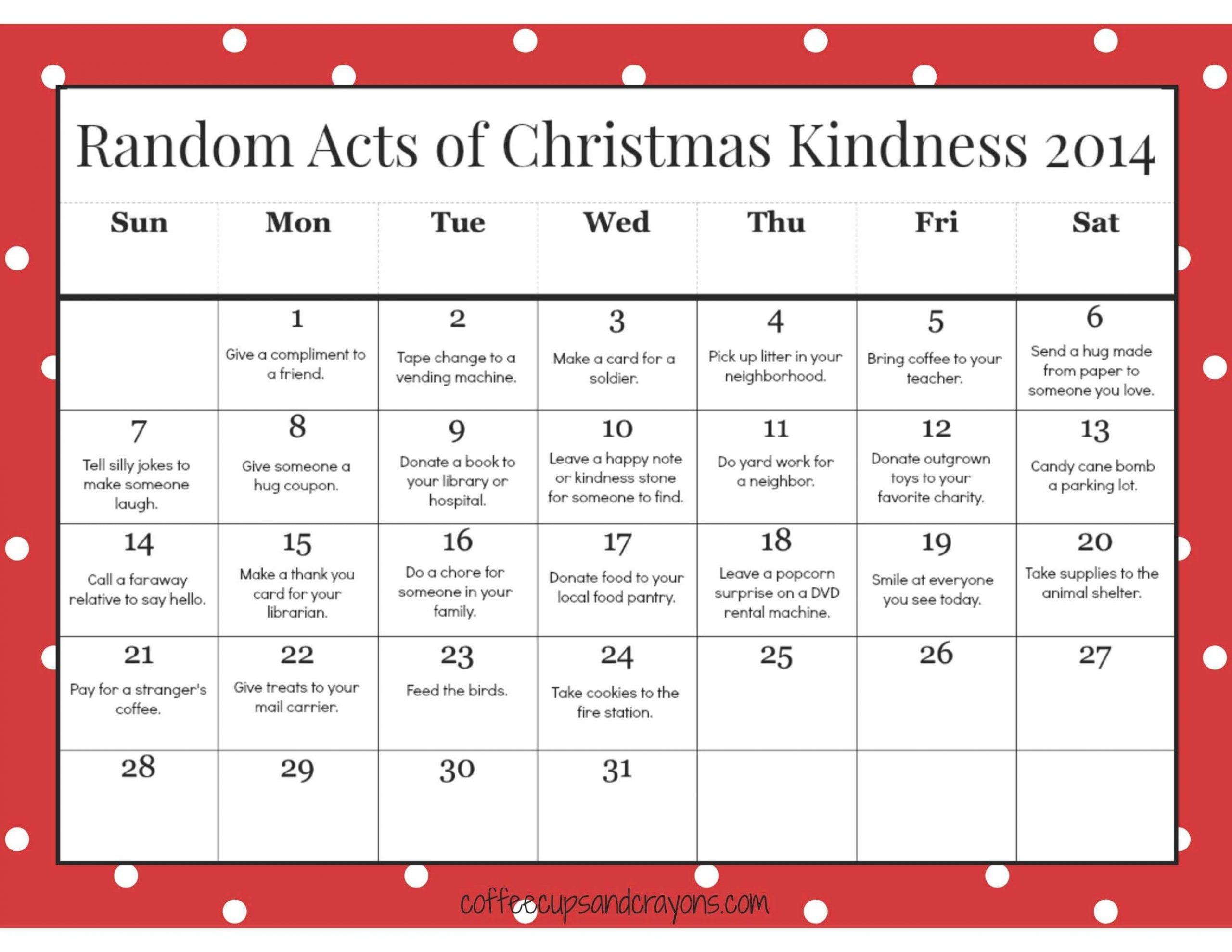 Advent Calendar