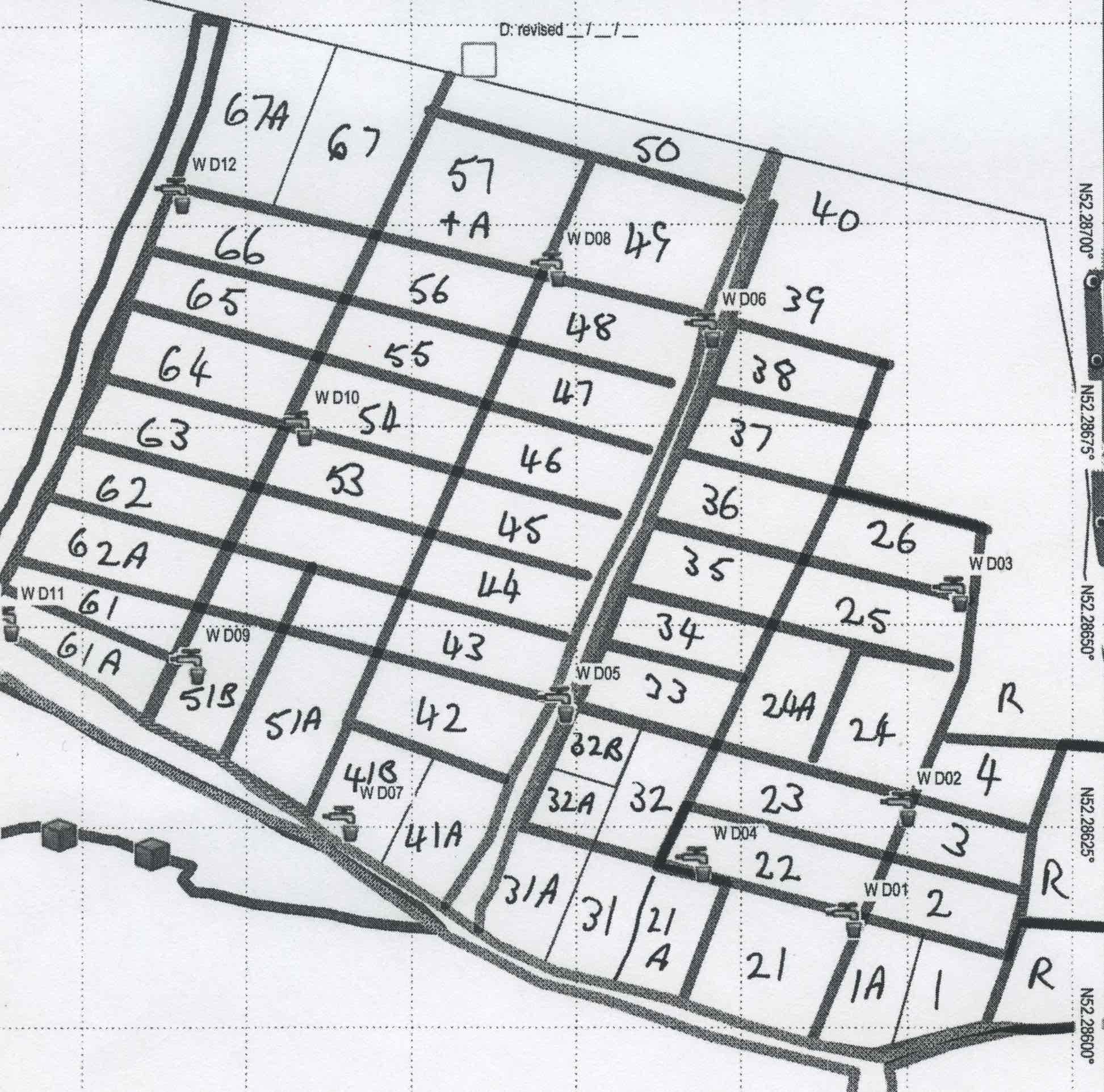 Plot Map Sector D