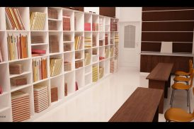 Book shelf design