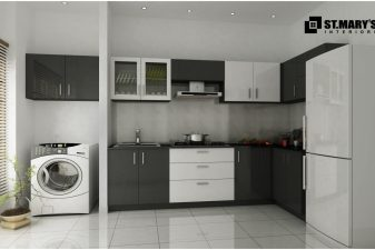 modular kitchen office residential - Kitchen Interior