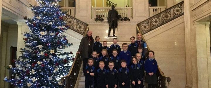Student Council Visit to Stormont