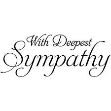 Sympathy Notice