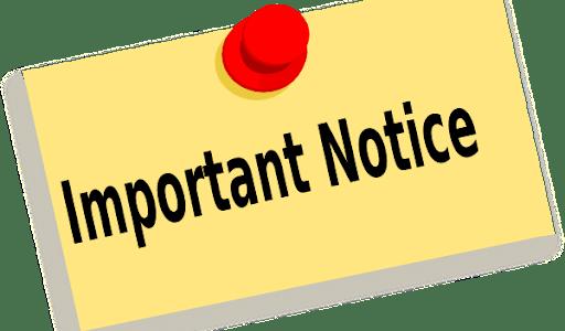 Postponed Nursery Induction Day