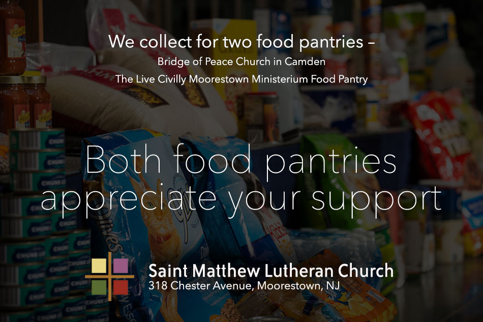 Food Pantry: September Collection
