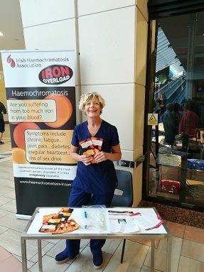 Margaret Dobbin haemochromatosis awareness day 2018.06.07
