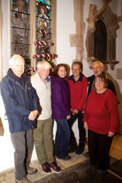 St Michael's bellringers with their tree