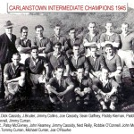Carlanstown intermediate team 1945