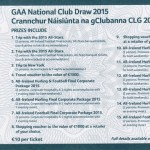 GAA Club Draw Ticket