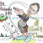 Gerry Kealy Golf poster